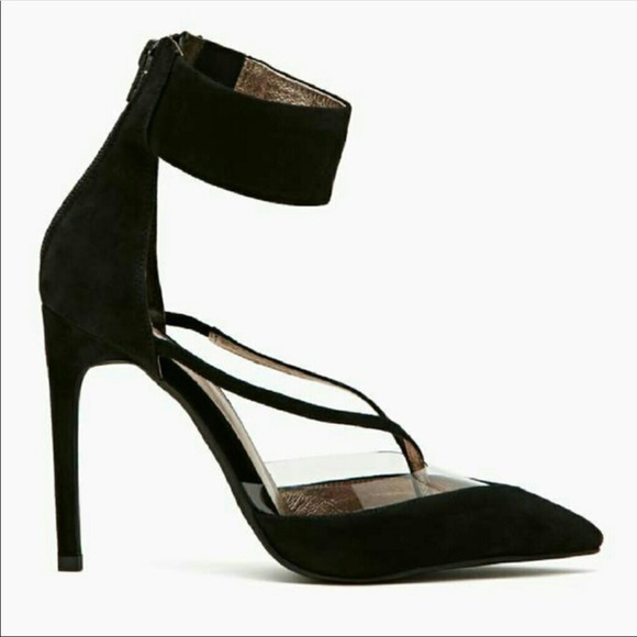 3f761d40b24 Jeffrey Campbell Shoes | Davan Suede Perspex Pumps | Poshmark